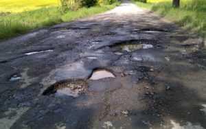 Ремонт дороги в частном секторе